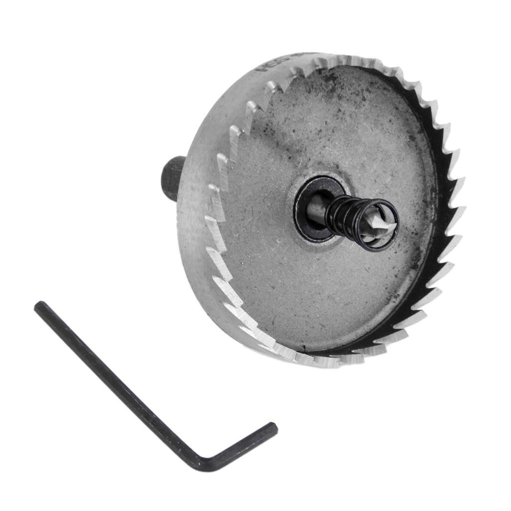 Holesaw Cutter Bit HSS Bi Metal Plastic Wood Quick Change Release Hole Saw Drill