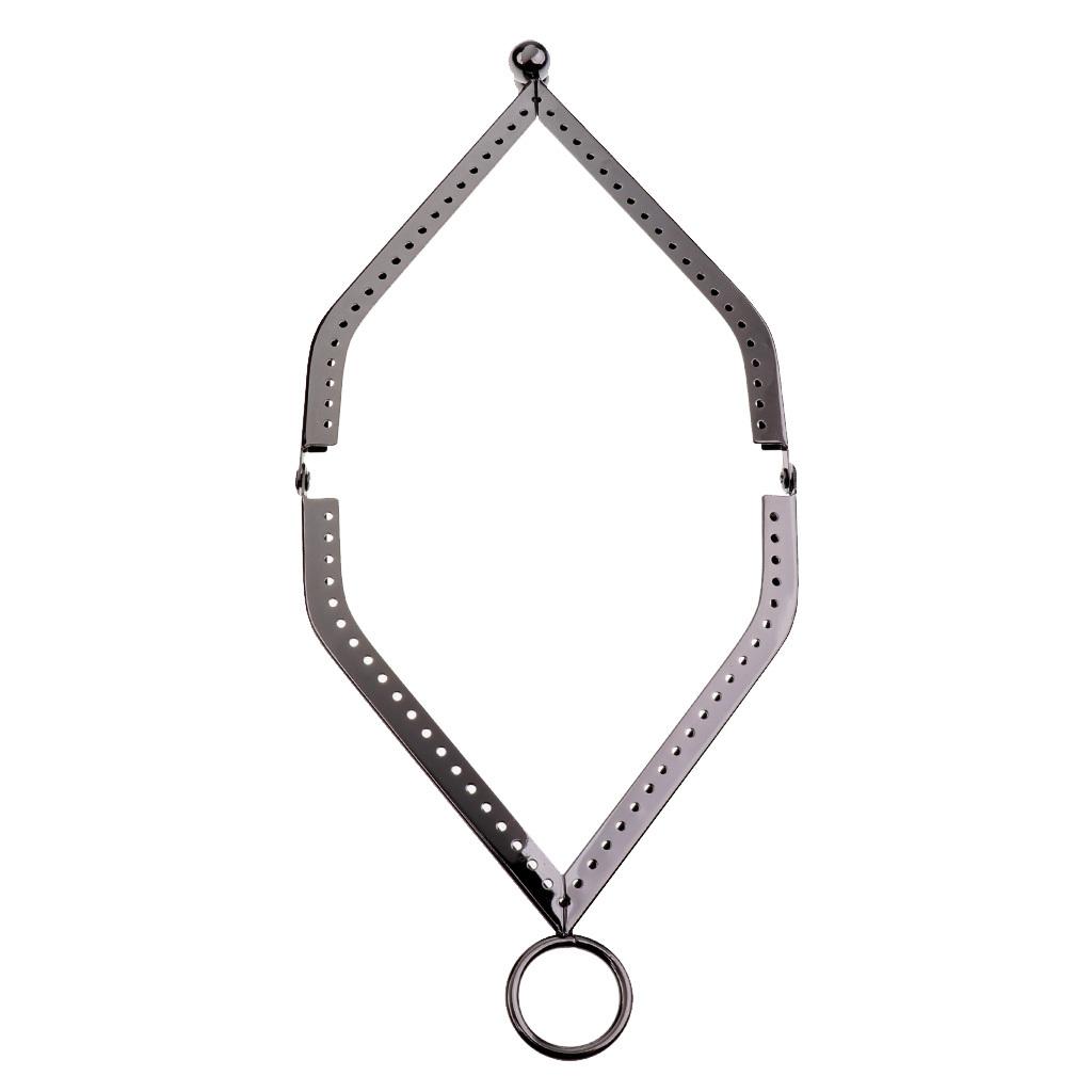 Dreieck Taschenverschluss Vintage Metallbügel Taschenrahmen Münztasche