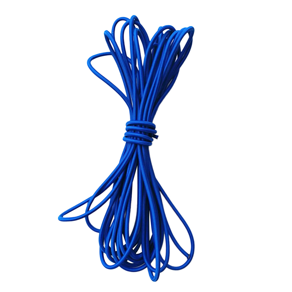 5mm 1-5m Strong Elastic Shock Cord Bungee Rope Tie Down UV Resistant /& Durable