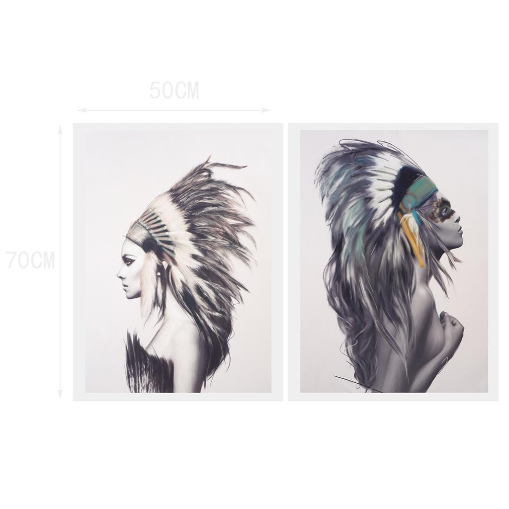 Moderne Wandbilder Kunstdruck Leinwand Bilder 2 stk