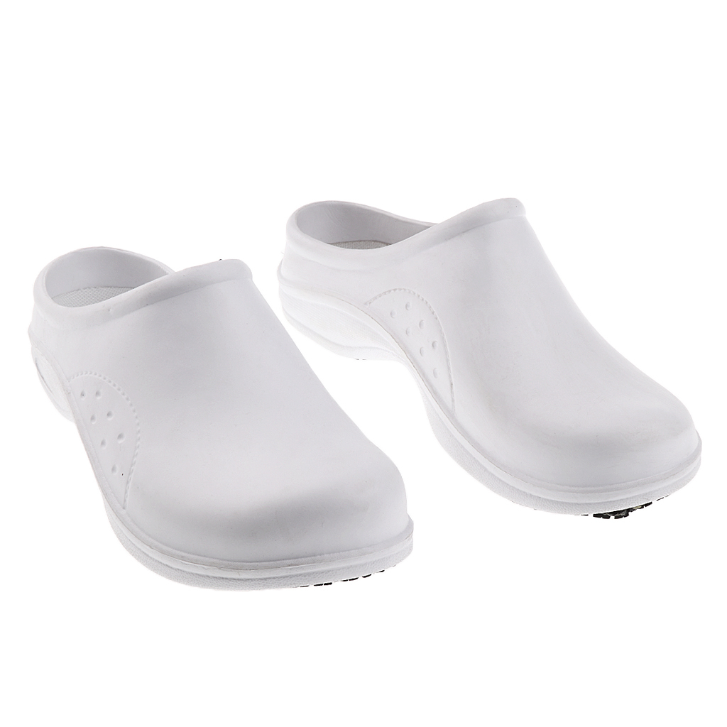 Women Garden Kitchen Hospital Chef Nursing Work Clogs Shoes Slipper Slides