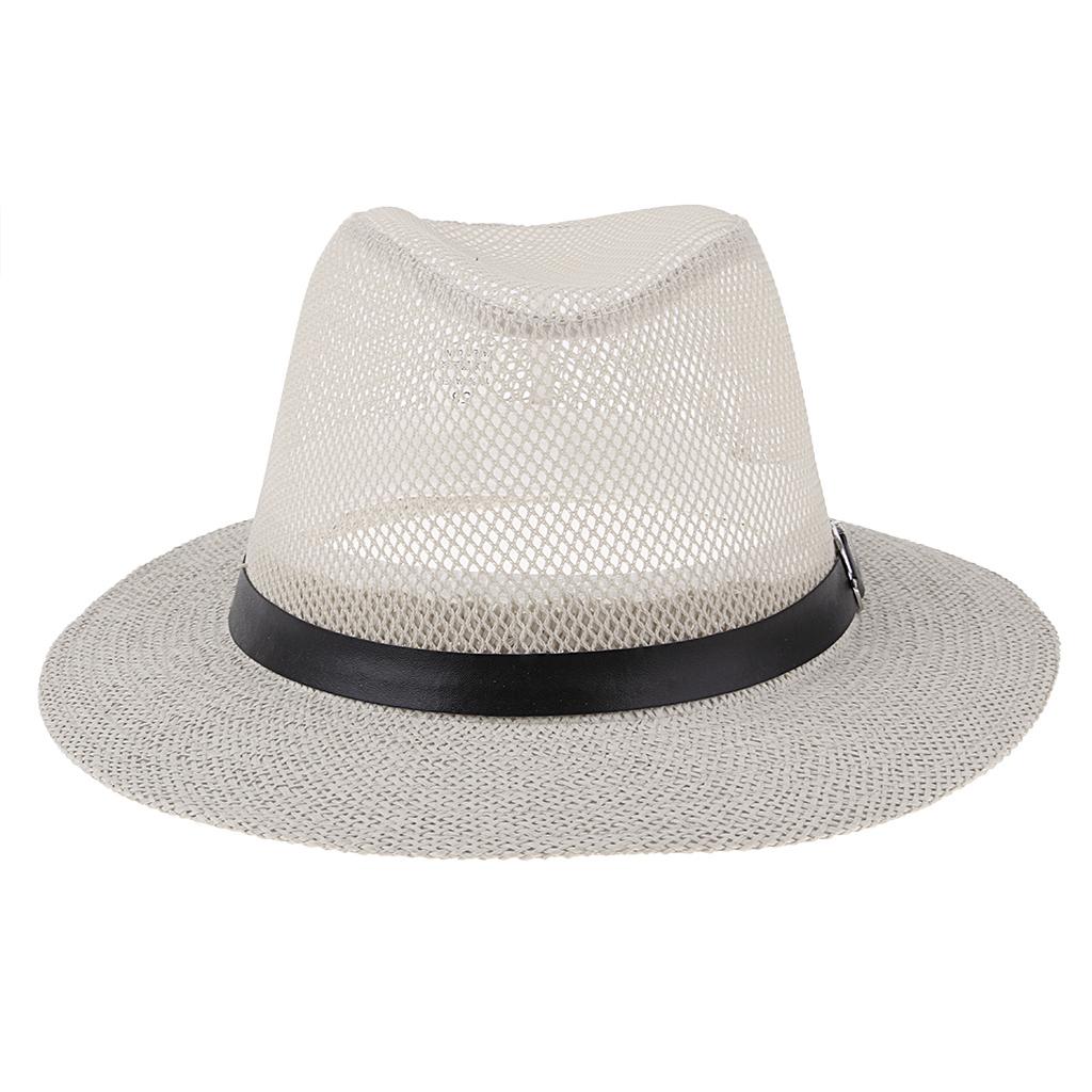 NEW MENS LADIES WIDE BRIM SUMMER SUN HAT JAZZ PANAMA FLOPPY PACKABLE HATS