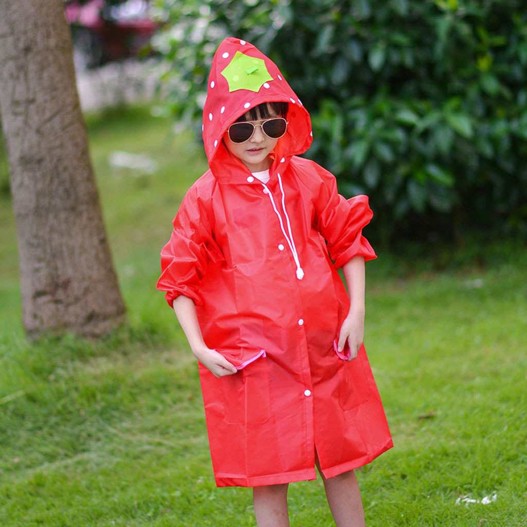 Imperméable automne printemps imperméable à capuche imperméable Casual Outwear Kids clothes