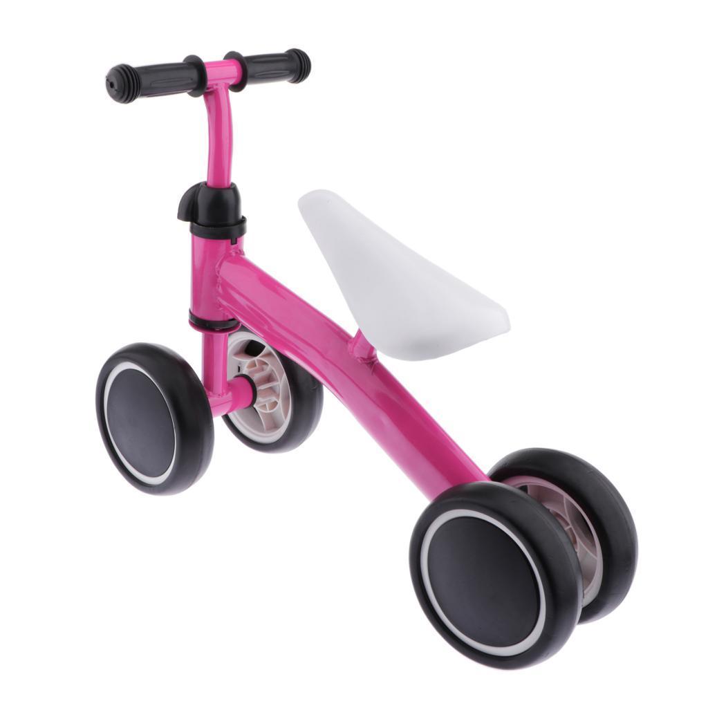 Metal Boys Girls Kids Walking Push Walker Bicycle Toddler Baby Balance Bike
