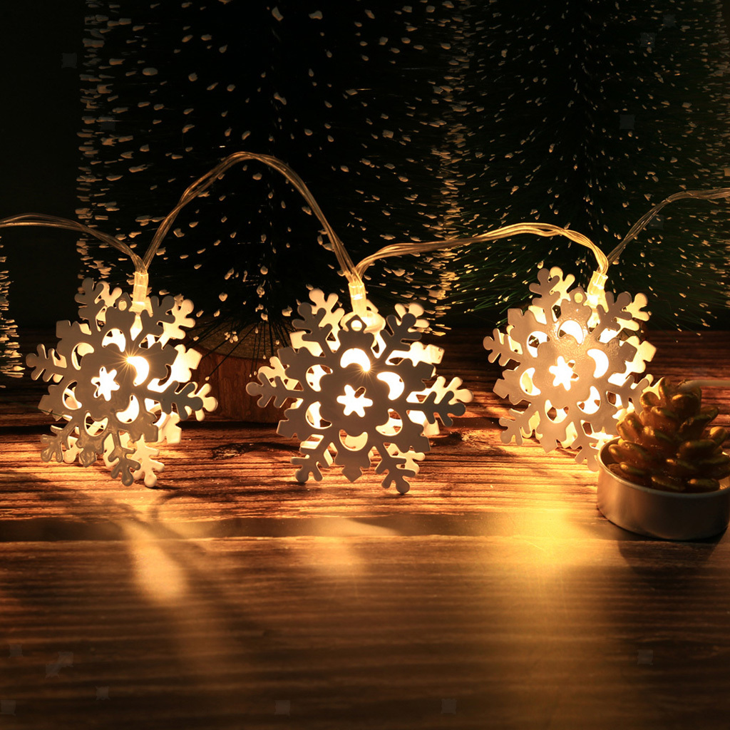 String LED Lights Decoration Fairy Lights Battery Star Copper Wire Lamp