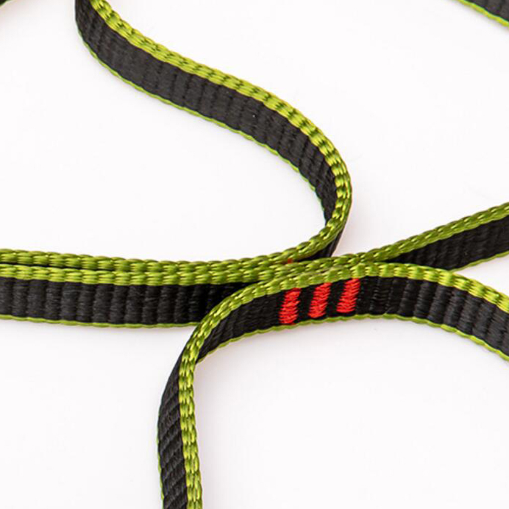 Climbing Caving Rising Rappelling Safety Foot Step Belt Rope Ladder Etrier