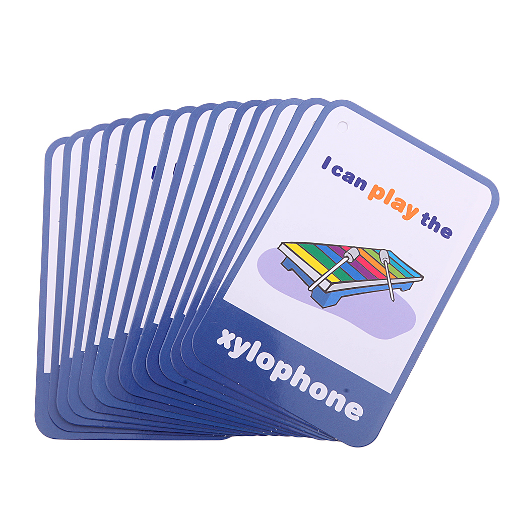 Flash Cards Cognition Flashcards Educational Early Learning Toy Child Baby PICK