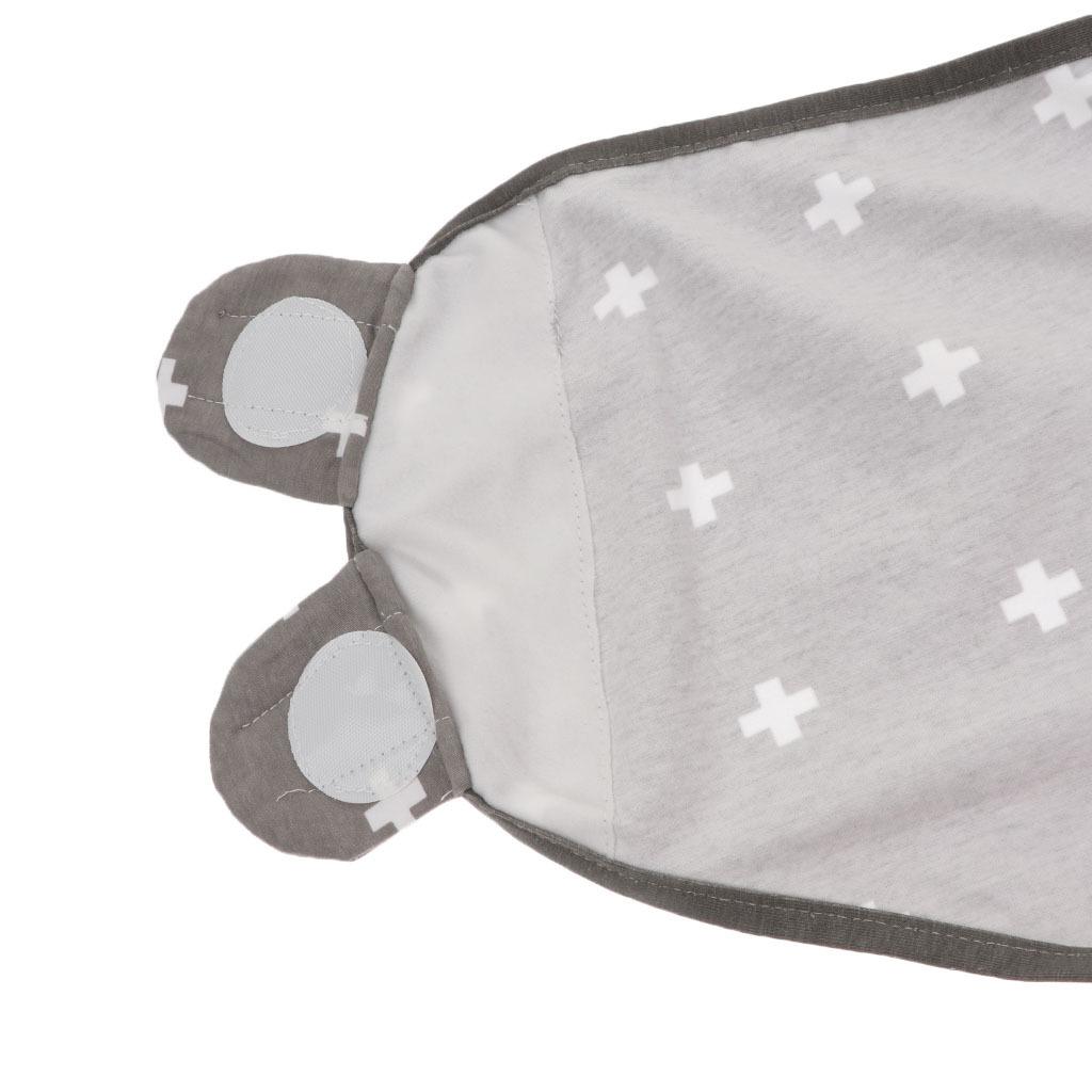 1//3 Pucksack Pucktuch Baby Schlafsack Strampelsack aus Baumwolle