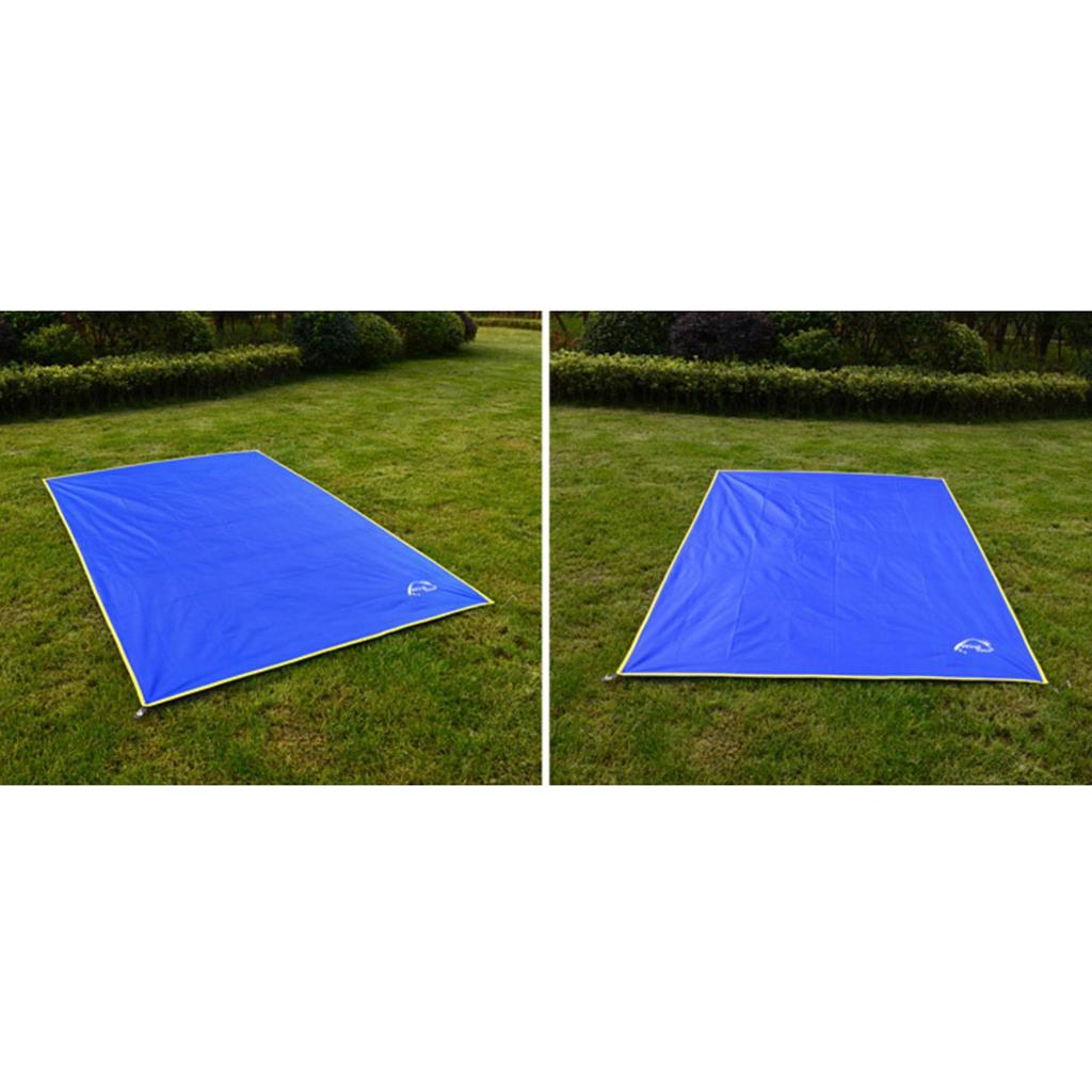 empreinte de tente et Bâche de camping imperméable pour pique-nique