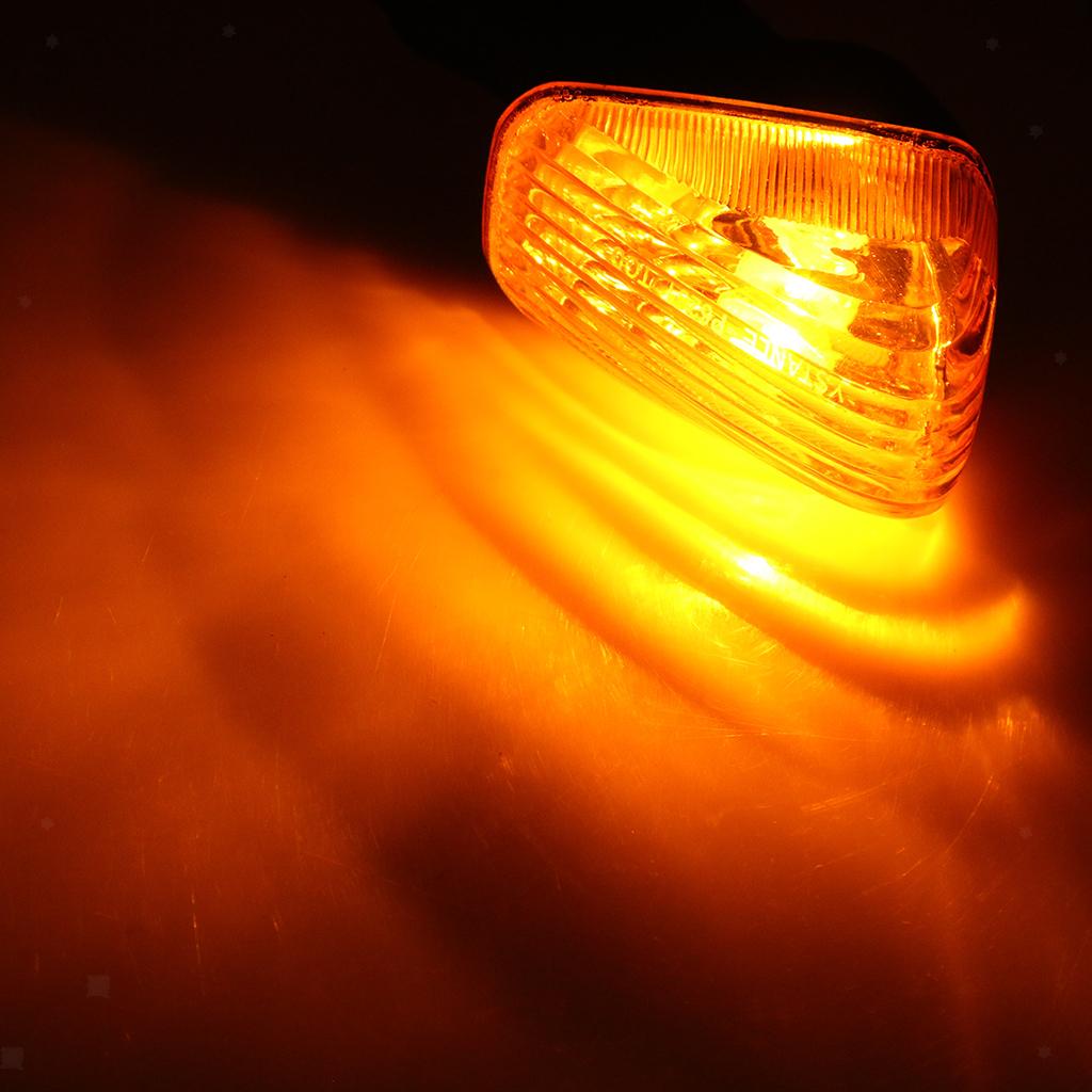 Motorcycle Turn Signal Rear Lamp Indicator for Kawasaki VERSYS KLR650 ZX6R