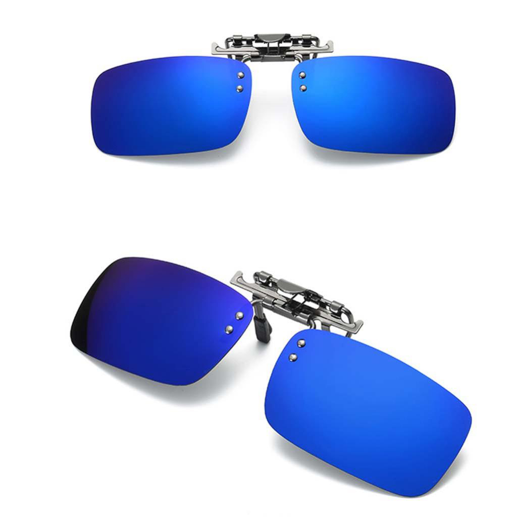 Im Freien polarisierte Klipp auf Sonnenbrille Blendung Block UV400 Objektiv