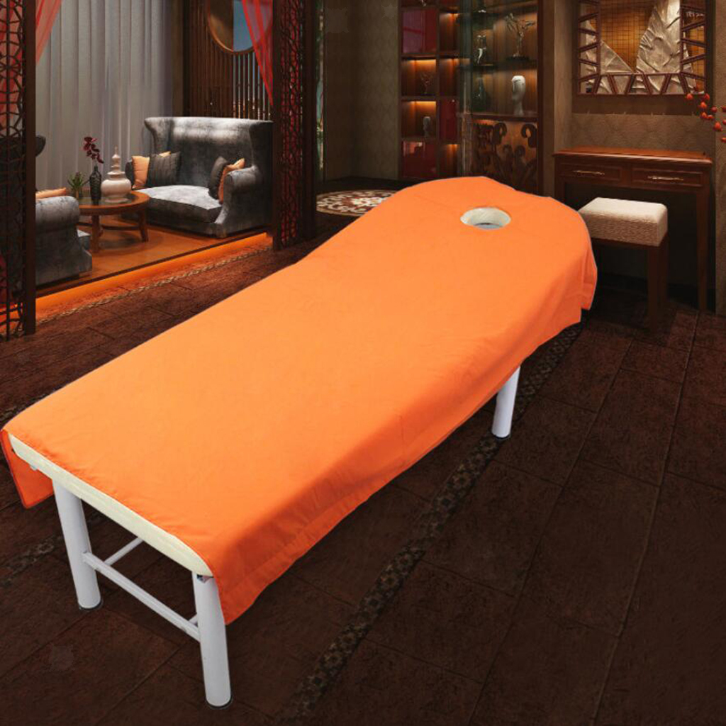 10 xToweling Couch Cover Massage SPA Table Bed Couches Sheets With Face Hole