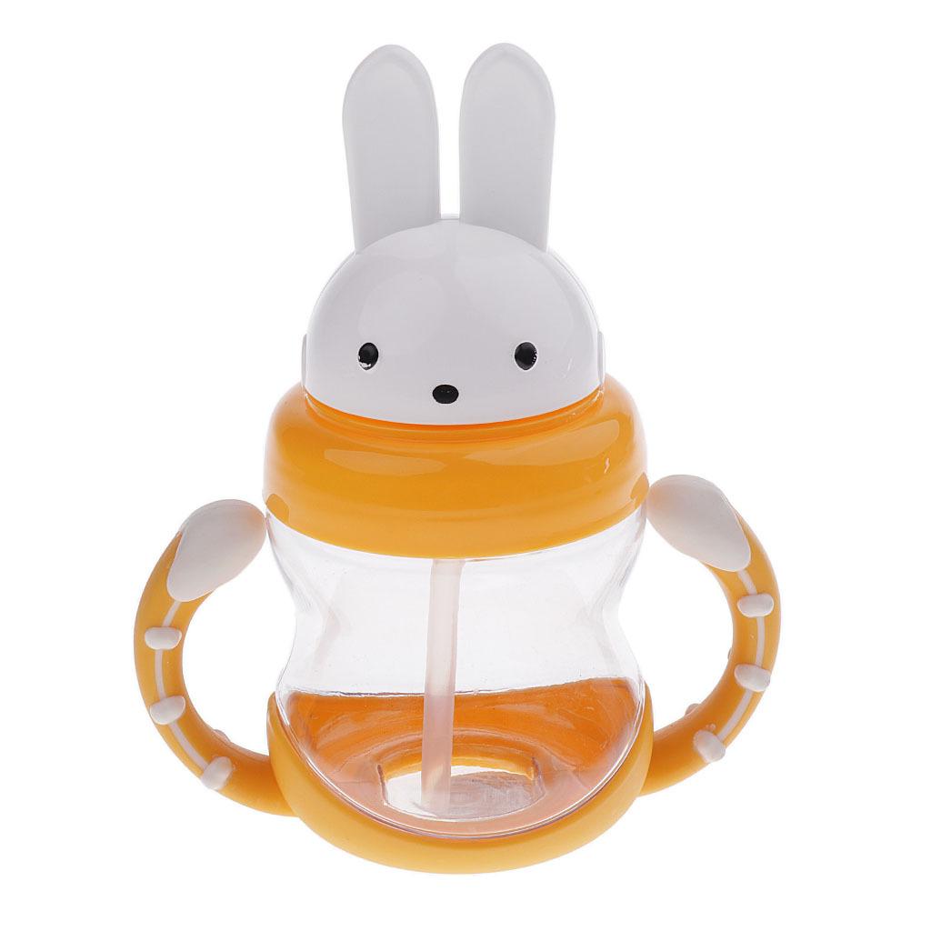 240 ML BPA Frei Kleinkind Trinkbecher Baby Kinder Nicht Spill  Stroh