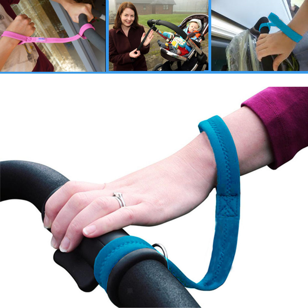Safety Belt Stroller Hand Strap for Mom Baby Stroller Accessory Necessary