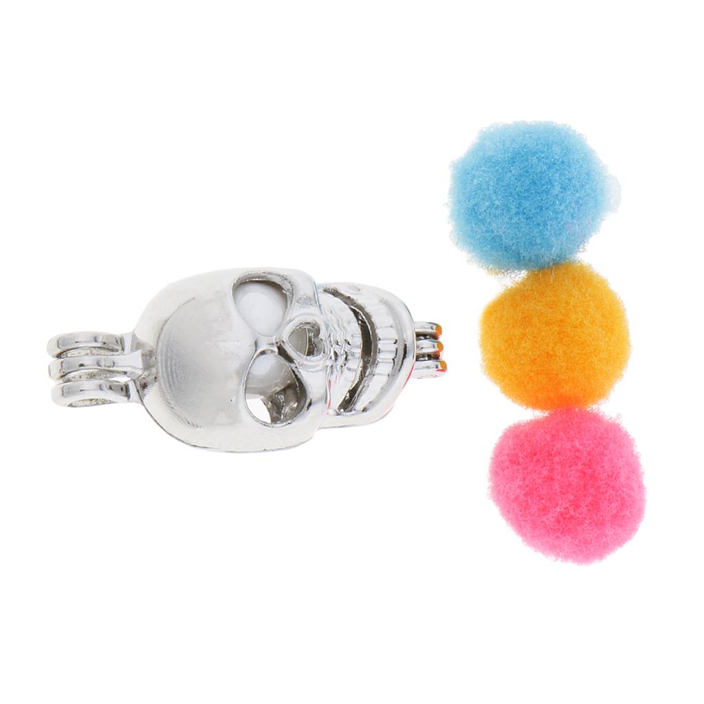 Pearl Bead cages pendentifs pour bijoux makingessential huile médaillon Pendentifs