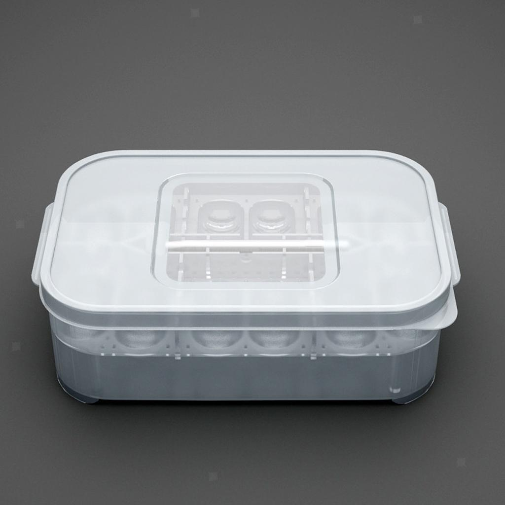 Plastic Portable and Durable Reptile Incubator Container Box Hatching Case