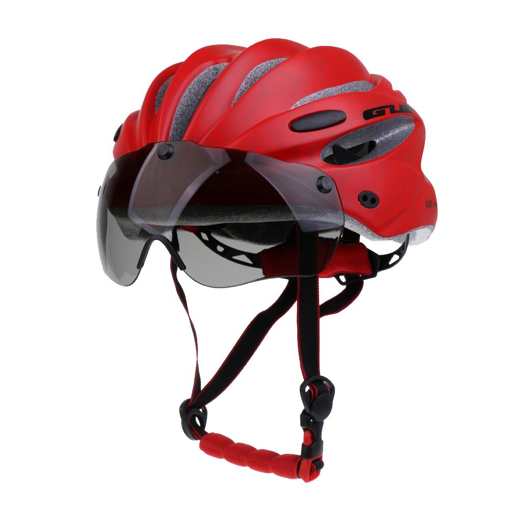 Mtb vélo vélo motocyclette casque de sécurité avec visière