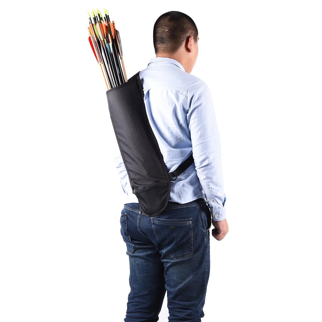Bogen Rückenköcher Seitenköcher Pfeilköcher