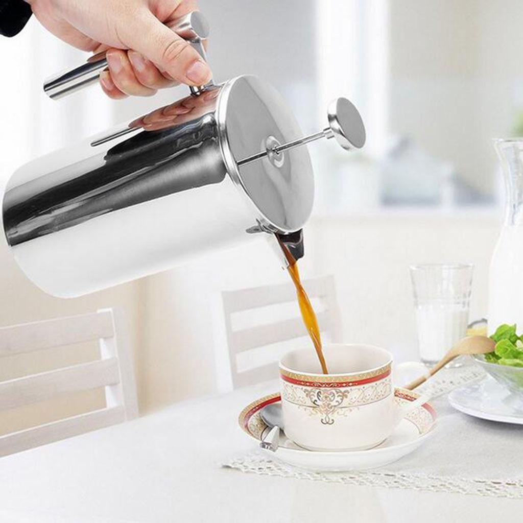 Französisch Kaffee Presse Maker Edelstahl Französisch Presse Maschine