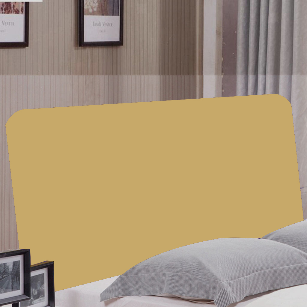 Bed Headboard Slipcover Soft Breathable Stretch stretchable Dustproof Cover