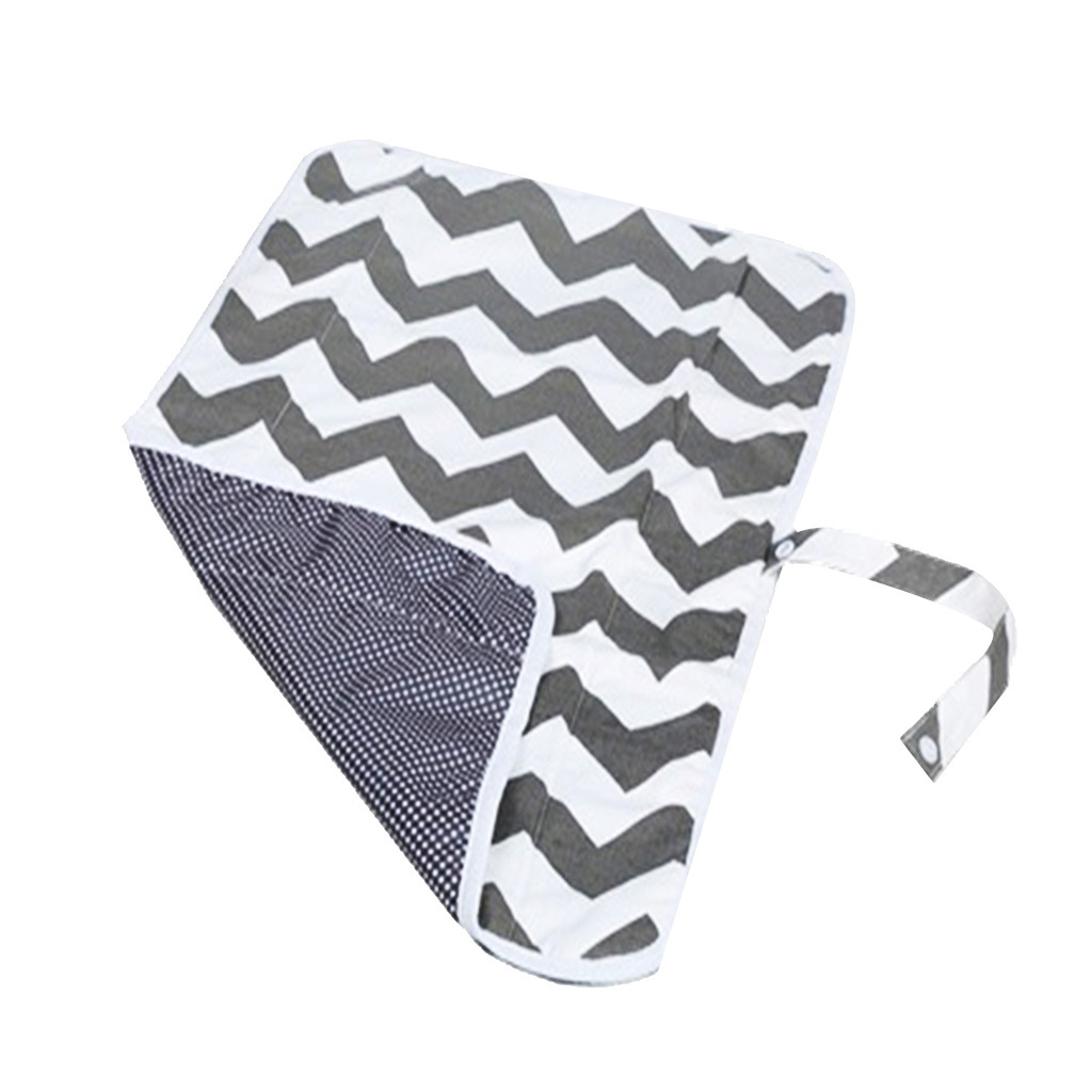 Foldable and Portable Baby Diaper Mat Waterproof Changing Pad Station Travel