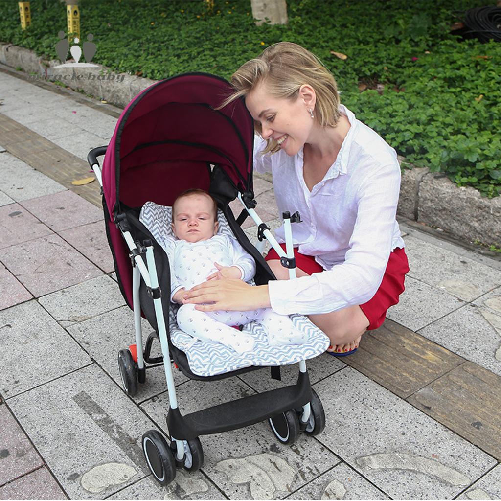 Universal Sitzauflage Auflage Sommer Winter Matratze für Kinderwagen und Buggy