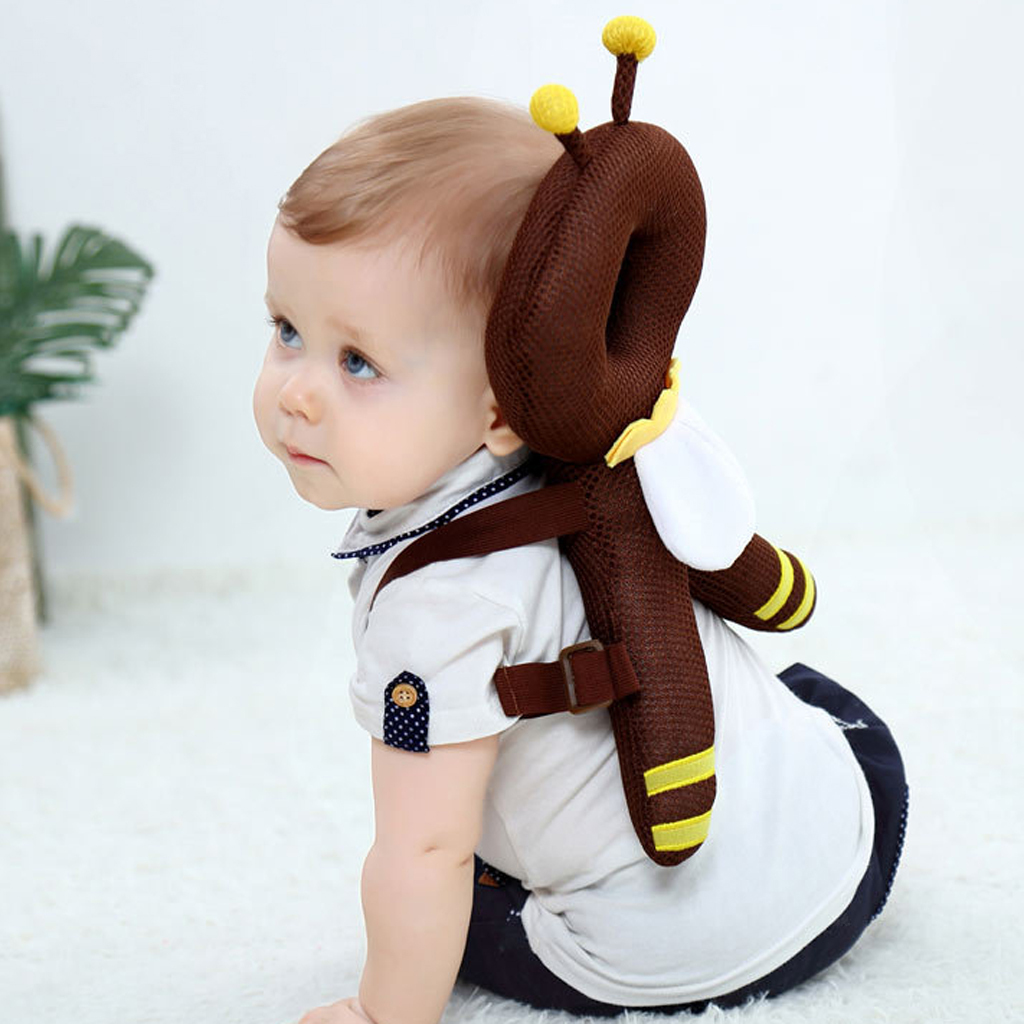 Toddler Headrest Baby Walking Head Back Protection Safety Pad Harness Cushion