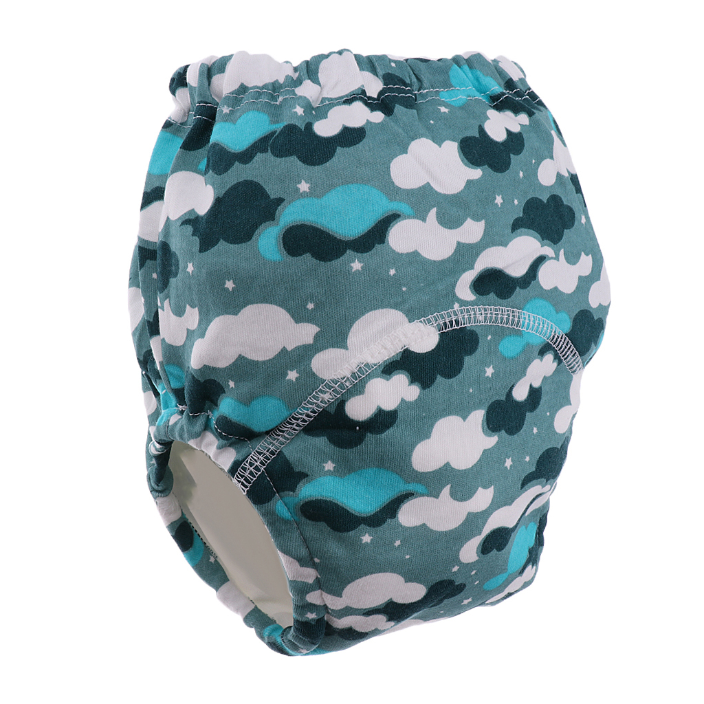 Prettyia Child Toddler  Pants Cotton Reuseable Nappy Diaper