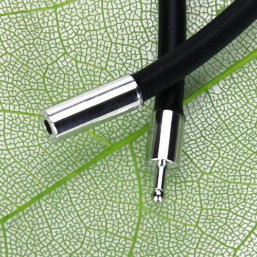 Schmuckband Gummiband Stretch 3mm für Halskette Schmuck Halsketten Handwerk