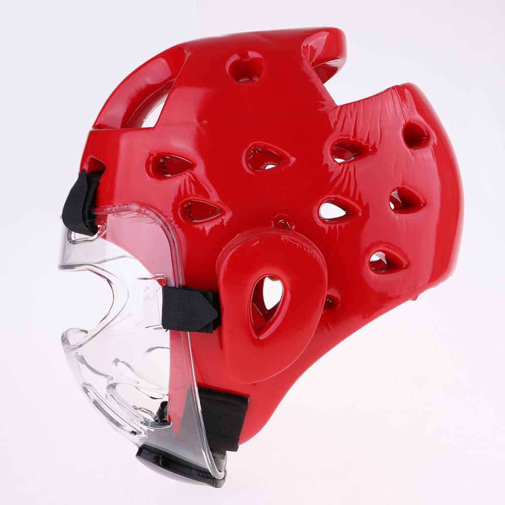 Perfeclan Adults Boxing Helmet Head Guard Martial Arts Gear MMA Protector