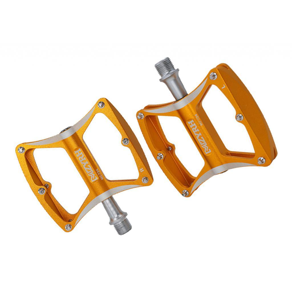 9//16/'/' Mountain Road Bike Pedals High-Strength Non-Slip Alloy Bicycle Pedals
