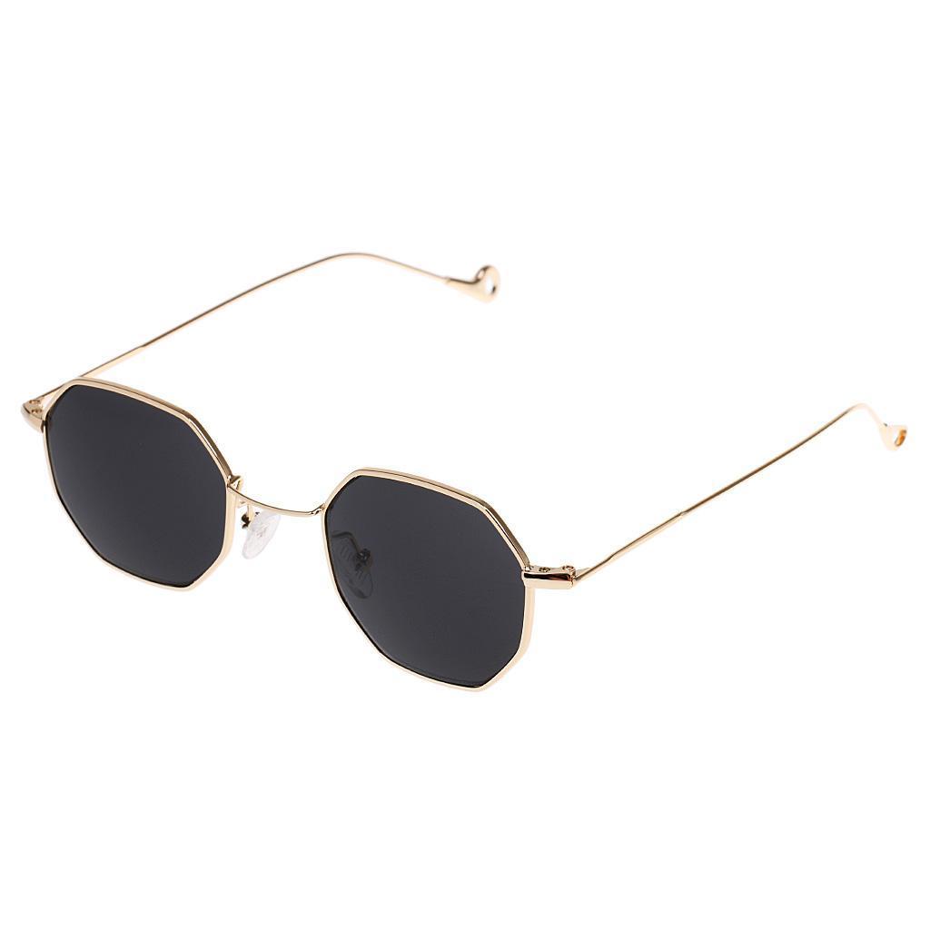 Summer Vintage Octagon Sunglasses Unisex Retro Fashion Brillen