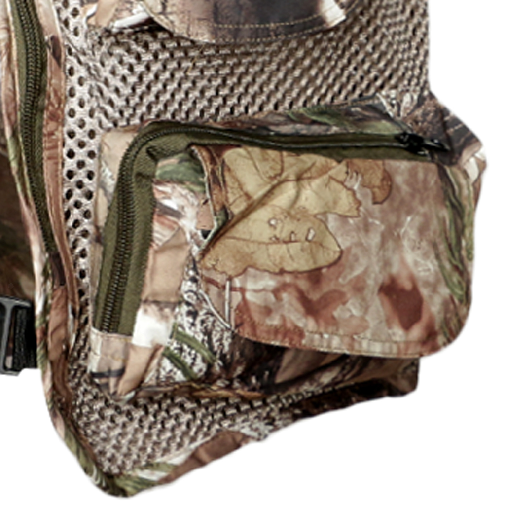 Fishing Vest Mesh Casual Suit Multi-function Pockets Travels Breathable Vest