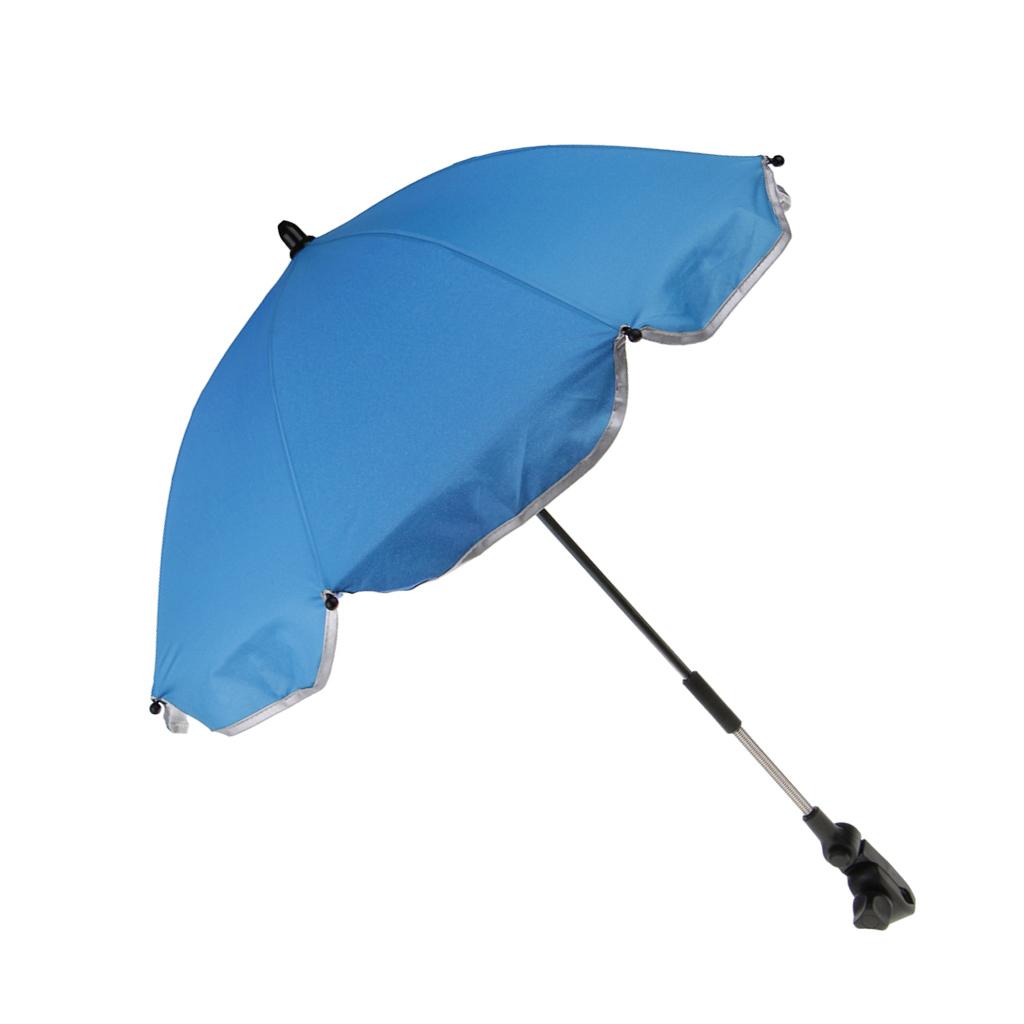Toddler Baby Sun Umbrella Parasol Buggy Pushchair Pram Stroller Shade Canopy