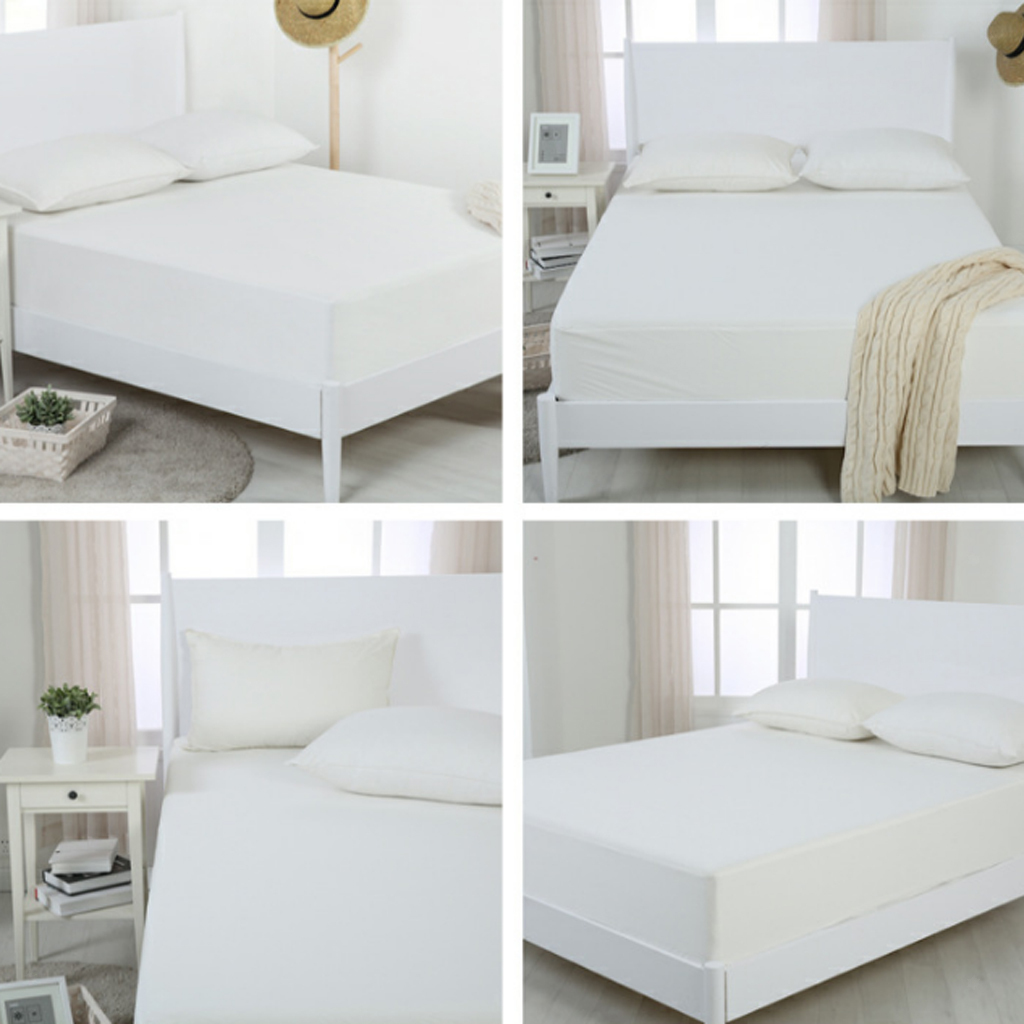 Luxury Waterproof Matress Mattress Protector Fitted Bed Cover Sheet All Size