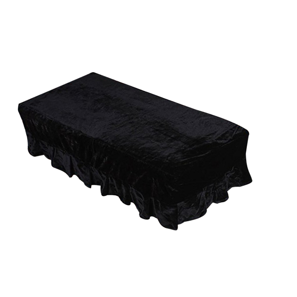 Pleuche Piano Stool Bench Cover Rectangle Seat Chair Dust Protective Sleeve PICK