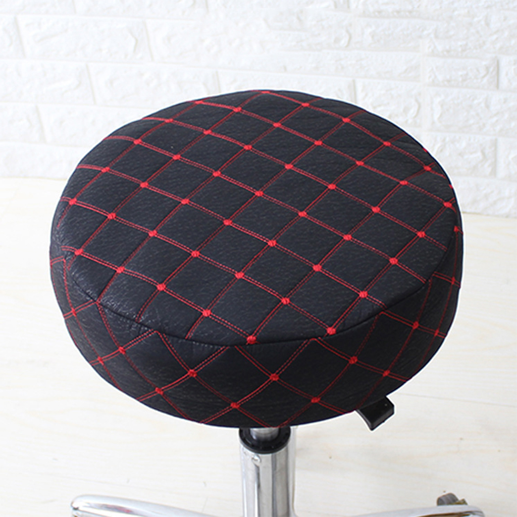"33cm//13/"" 40cm//16/"" Bar Stool Cover Round Chair Seat Cushion Protector Slipcovers"