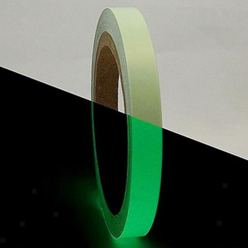 1xGlow In The Dark Sticky Tape Self Adhesive Luminous Saftey Film Sticker