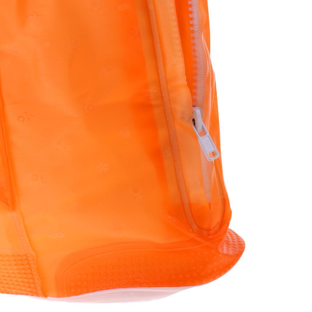 Copriscarpe-impermeabili-pieghevoli-riutilizzabili-da-donna-per-uomo miniatura 9