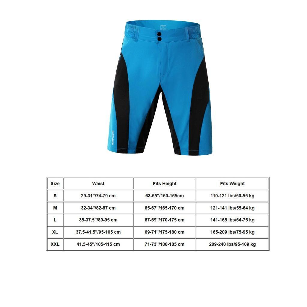 Men-039-s-MTB-Cycling-Half-Pants-Mountain-Bike-Bicycle-Shorts-Water-Resistant thumbnail 8