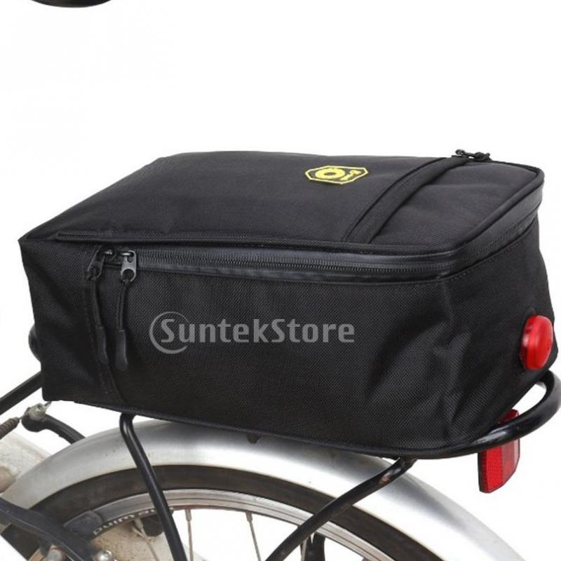 Bike Rack Rear Seat Saddle Carrier Handlebar Storage Pouch Carring Pannier