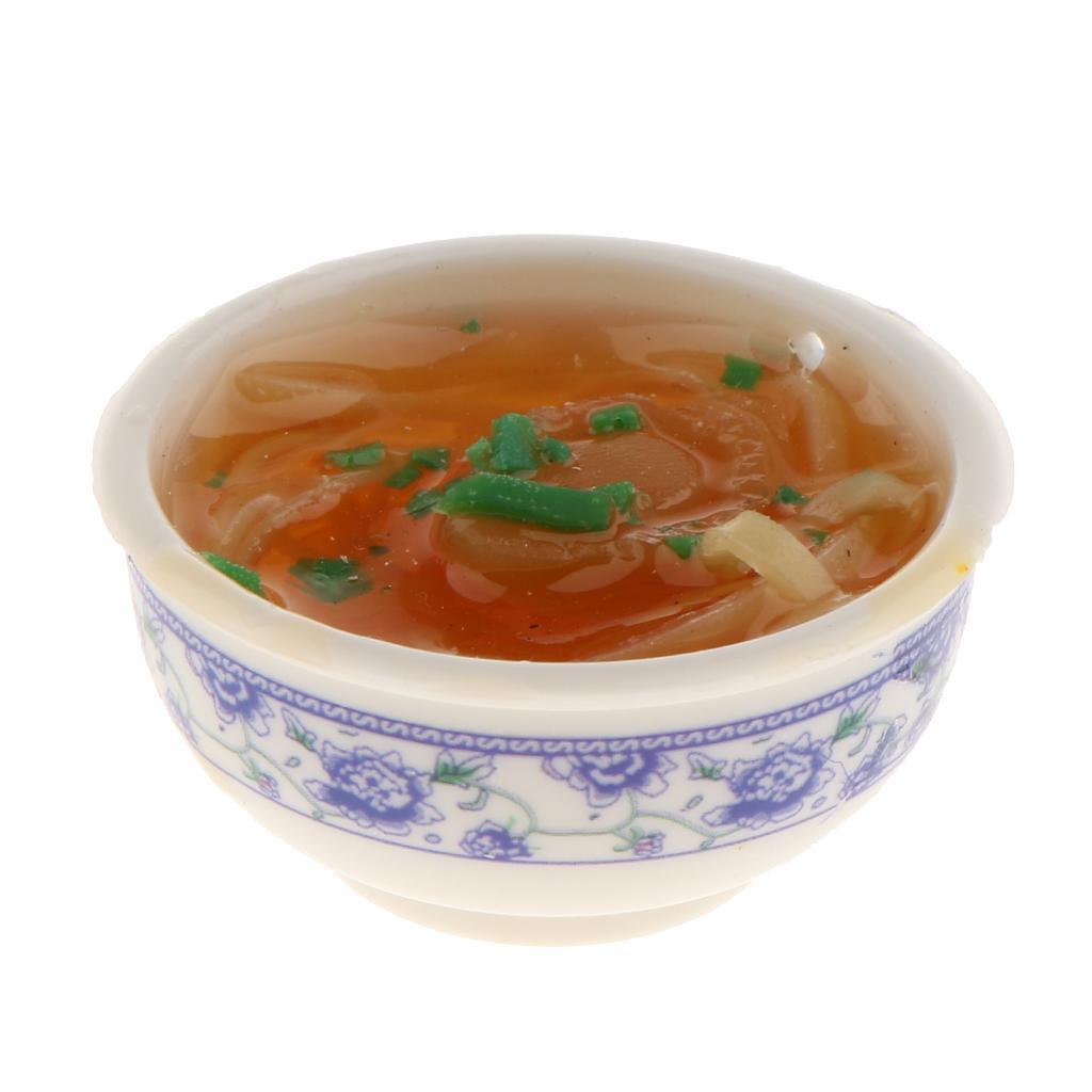 1//12 Puppenhaus Miniatur chinesisches Essen Puppenstube Esszimmer Küchenzubehör