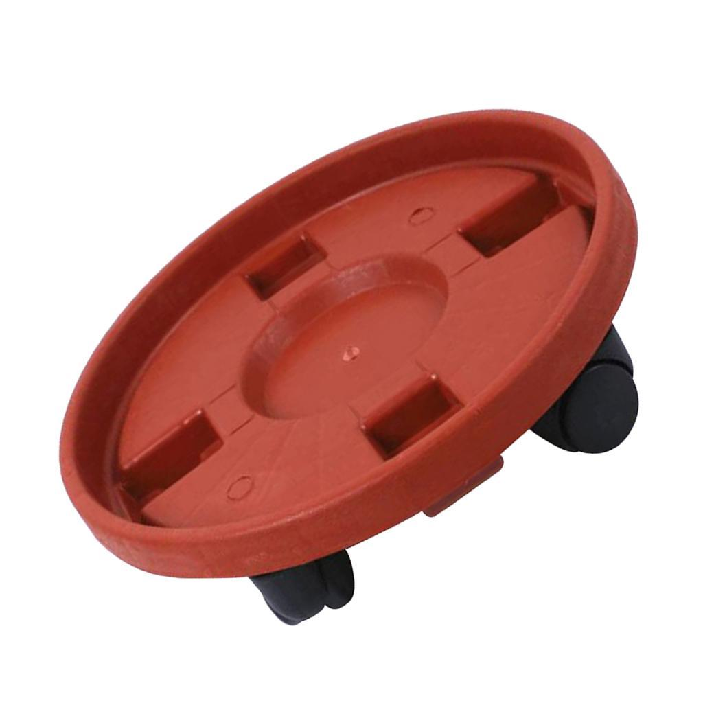 Plant Caddy With Wheels And Water Drawer Freemove Plantpot Round Base