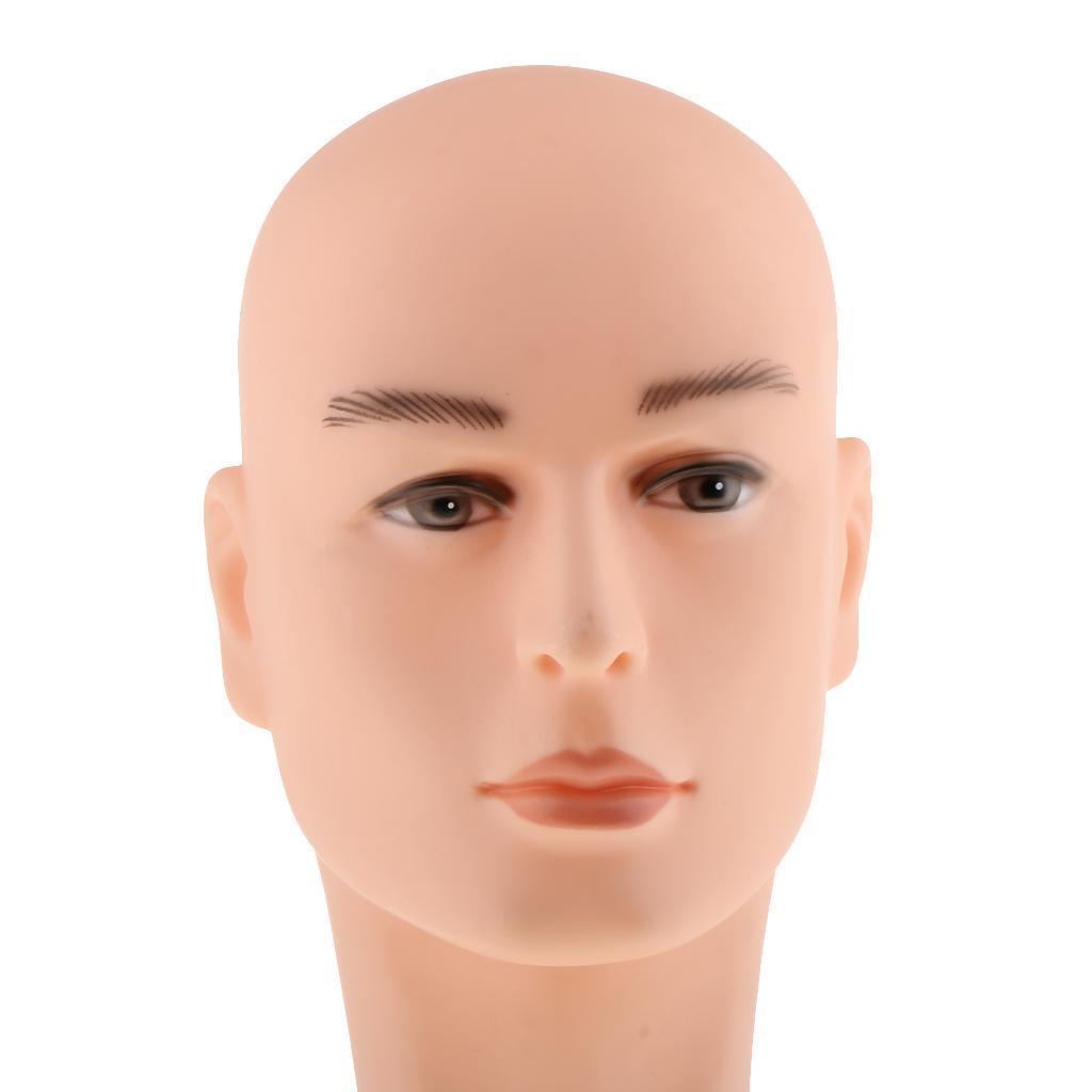 Männliche Schaufensterpuppe Mannequin kopf Perückenkopf Dekokopf
