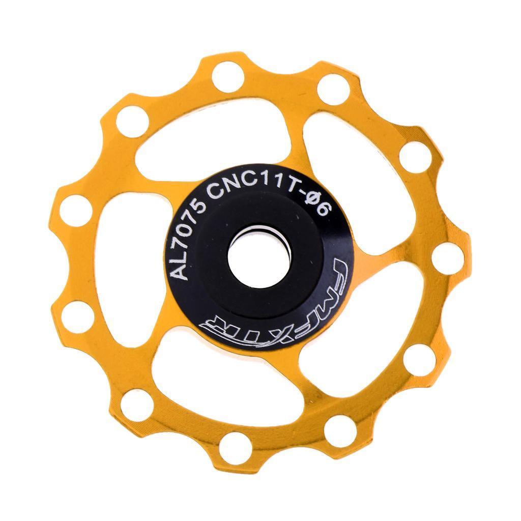 4mm und 5mm 1 Stück 11T Fahrrad Schaltwerk Riemenscheibe mit 2 Stück Buchse