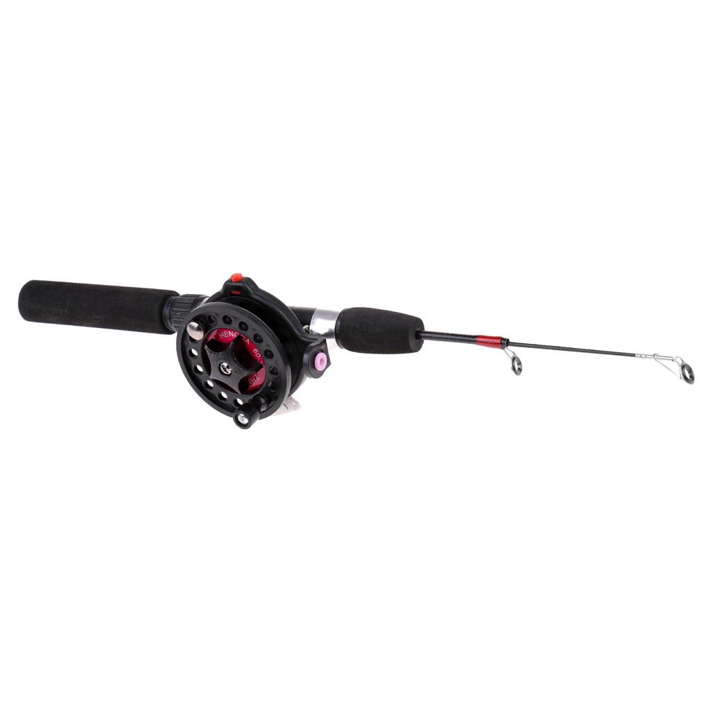 Teleskop Mini ultraleichte Eis Angelrute Polfischen Werkzeug