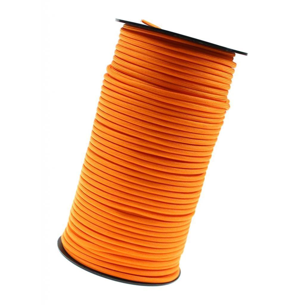4mm 100M 7 Strand Outdoor Rescue Paracord Parachute Cord Binding Tent Rope