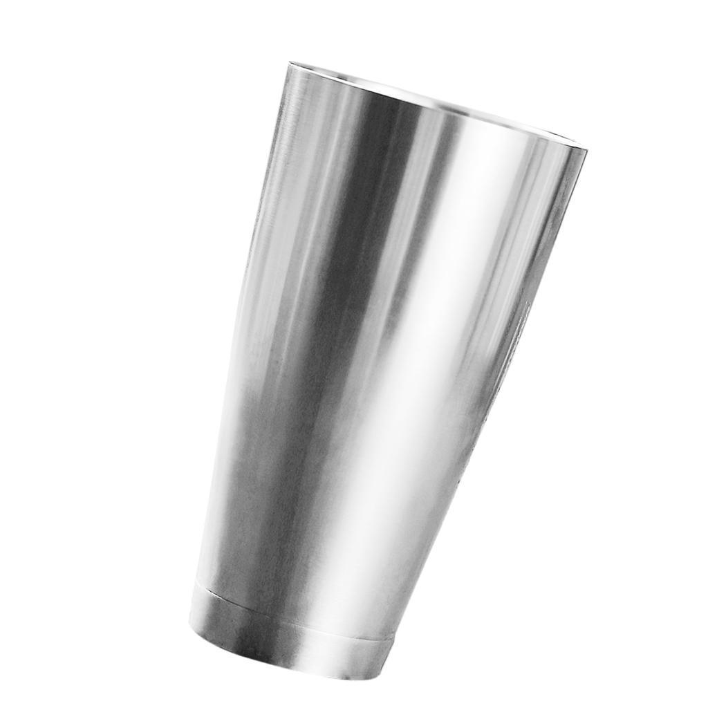 Bar Cocktail Shaker Stainless Steel Boston Mixing Tin Bartender Shaker