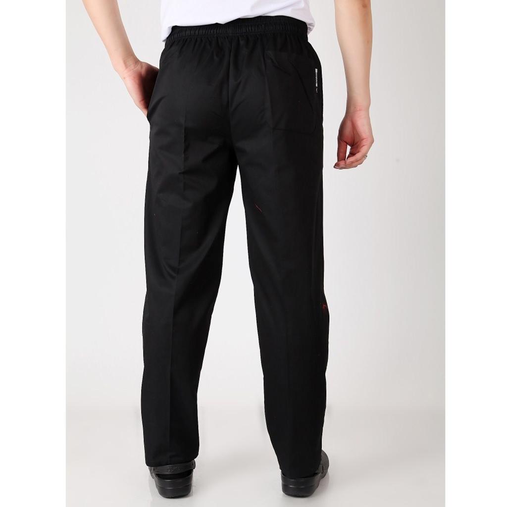 Unisex Work Wear Food Service Pants Chef Uniform Pants Kitchen Trousers