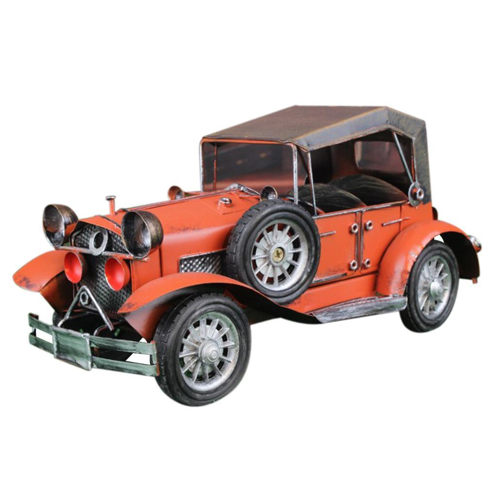 Details about  /Retro Classic Car Model Tin Toy Collectible Gift Home Room Decor